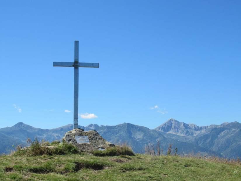 in cima al Monte Alpet (1611 m)