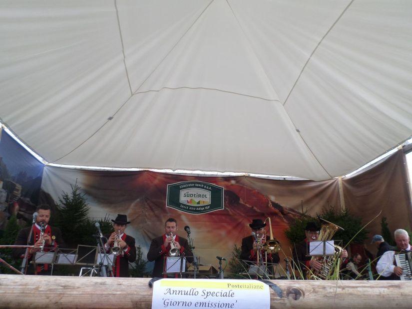 gruppo folkloristico alla Speckfest