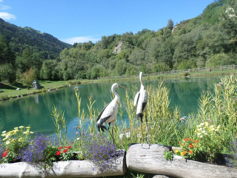 laghetto di pesca sportiva Brugg in Val Venosta