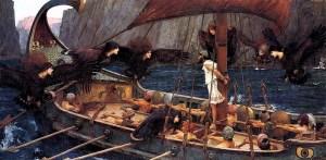 Ulises y las sirenas John William Waterhouse