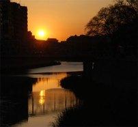 puesta de sol en murcia