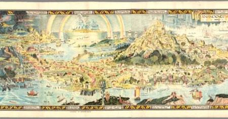 Parte central de An Ancient Mappe