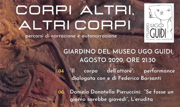 Actividad literaria en el Museo Ugo Guidi - MUG