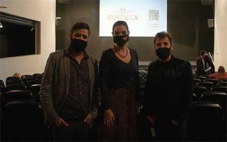 Fran Mateu, Marga Anton y Mario Paul Martínez
