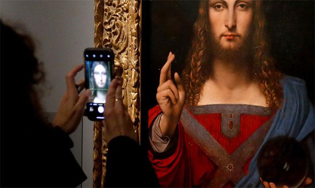 Revelan el misterio de la esfera de cristal que sujeta Cristo en el cuadro 'Salvator Mundi' de Leonardo da Vinci