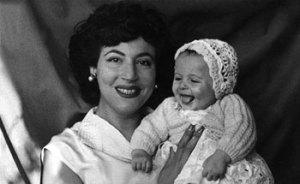 Acacia con su hija