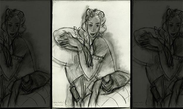 Subastan una ilustración de Matisse hallada por casualidad en un armario tras su desaparición hace más de 70 años