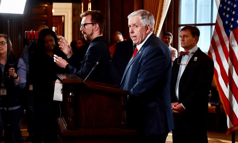 Gobernador Parson declara Estado de Emergencia en Missouri