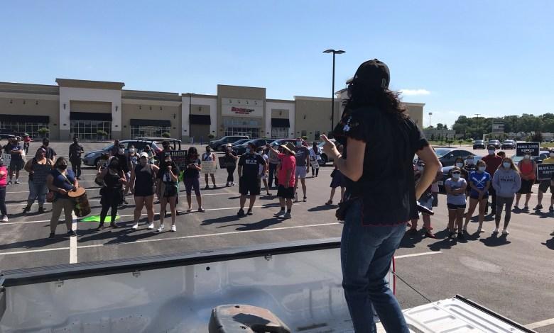 Marcha de Unidad en St.Ann, Missouri