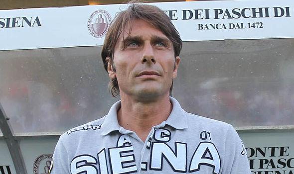 Antonio Conte al Siena