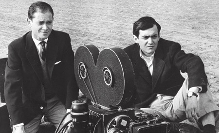 The Killing, un giovanissimo Stanley Kubrick sul set