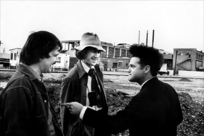 Eraserhead, Jack Nance e David Lynch scherzano sul set