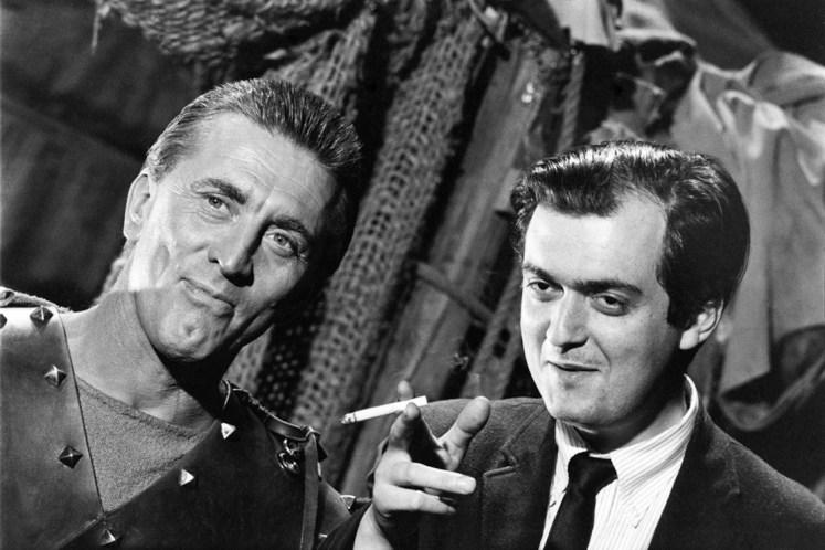 Spartacus, Kirk Douglas e Stanley Kubrick sul set