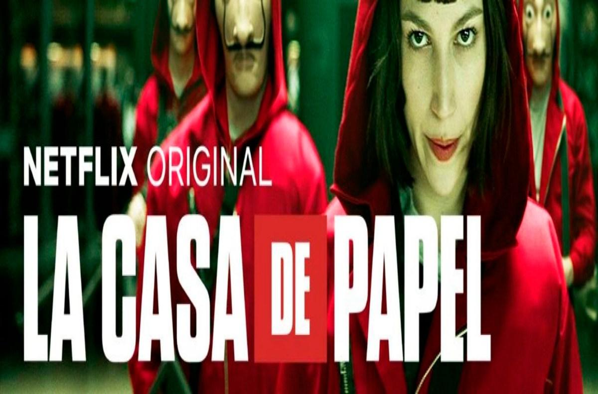 La Casa De Papel - La Casa Di Carta, la serie tv spagnola in onda su Netflix