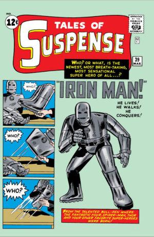 Il primo, storico numero di Iron Man. Il #39 delle Tales Of Suspense