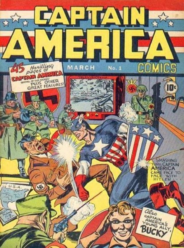 L'esordio di Captain America contro il suo primo nemico: Adolf Hitler