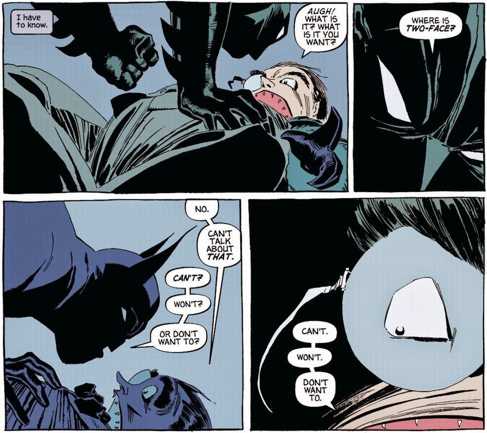 Dark Victory, Batman alle prese con Il Pinguino