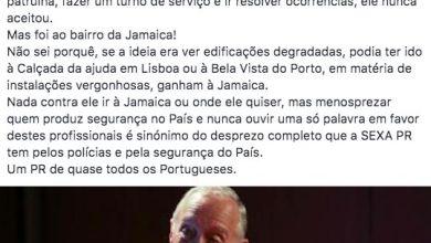 Photo of Líder de sindicato da PSP critica visita de Marcelo de Sousa a Vale de Chícharos
