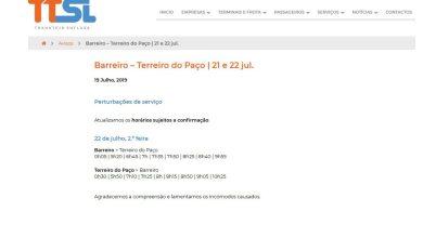 Photo of Constrangimentos na ligação Barreiro-Lisboa via fluvial vão continuar
