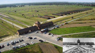 Photo of 'Arbeit macht frei' frase que recebeu milhares em Auschwitz