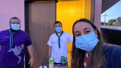 Photo of Escuteiros de Santo André-Barreiro angariaram bens para o Banco Alimentar