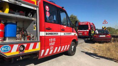 Photo of Dois feridos em despiste na EM502 em Alcochete