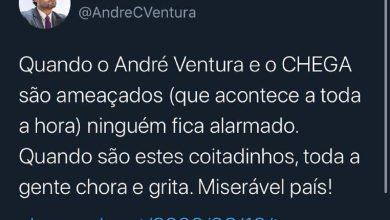Photo of «Quando André Ventura e o Chega são ameaçados ninguém fica alarmado»