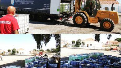 Photo of Bombeiros de Águas de Moura com oferta de produtos para desinfeção