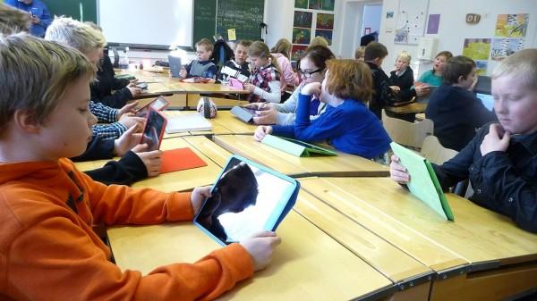 Tottijärven+koulu+Nokia+iPad-hanke+091112