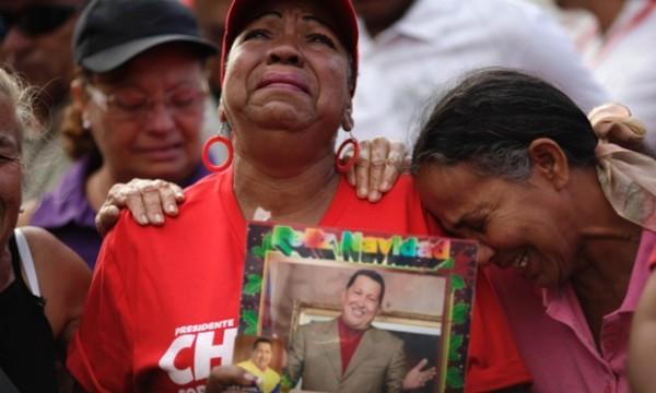 Não foi o que aconteceu com Chávez