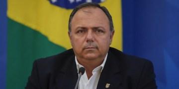Ministro da Saúde, Nelso Teich, com o  secretário executivo do ministério da Saúde. Sérgio Lima/Poder360 27.04.2020