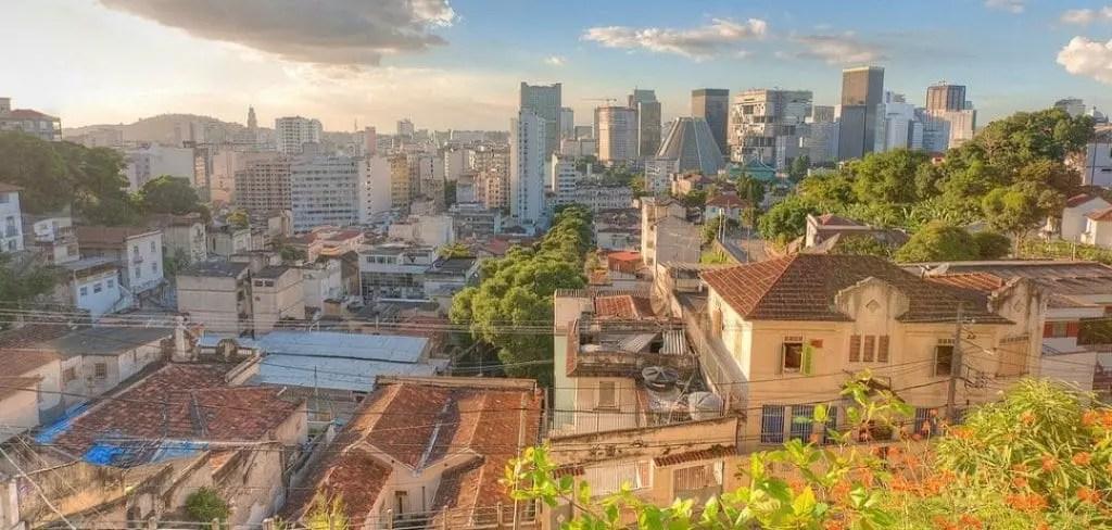 Centro seen from Santa Teresa, Rio de Janeiro por waynewhuang