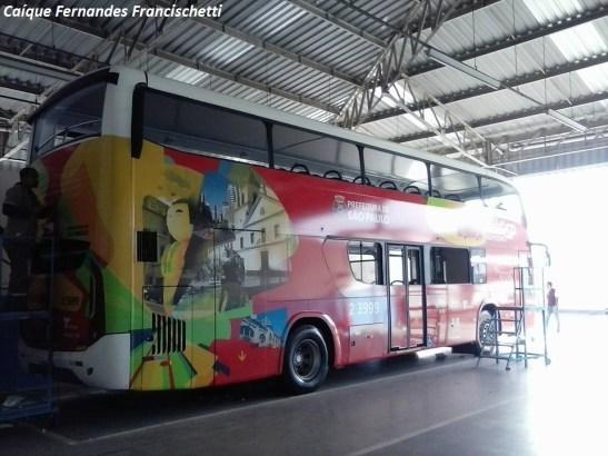 ônibus de turismo São Paiulo
