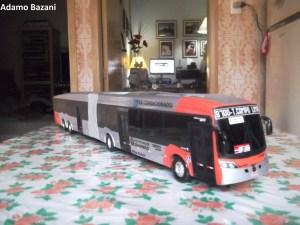 Miniatura de ônibus de São Paulo