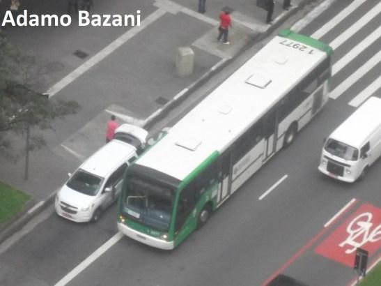 táxi faixa de ônibus