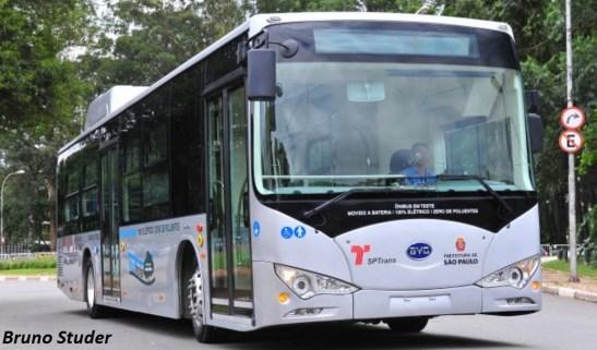 BYD Bus Brazil