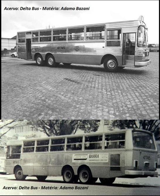 Ônibus urbanos de três eixos hoje são comuns. Mas na época do Gabriela, eram feitas adaptações. Era o sinal claro de que as cidades cresciam e precisavam de ônibus com maior capacidade.
