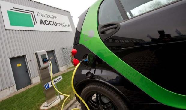 Neue Fertigungshalle für High-Tech-Batterien