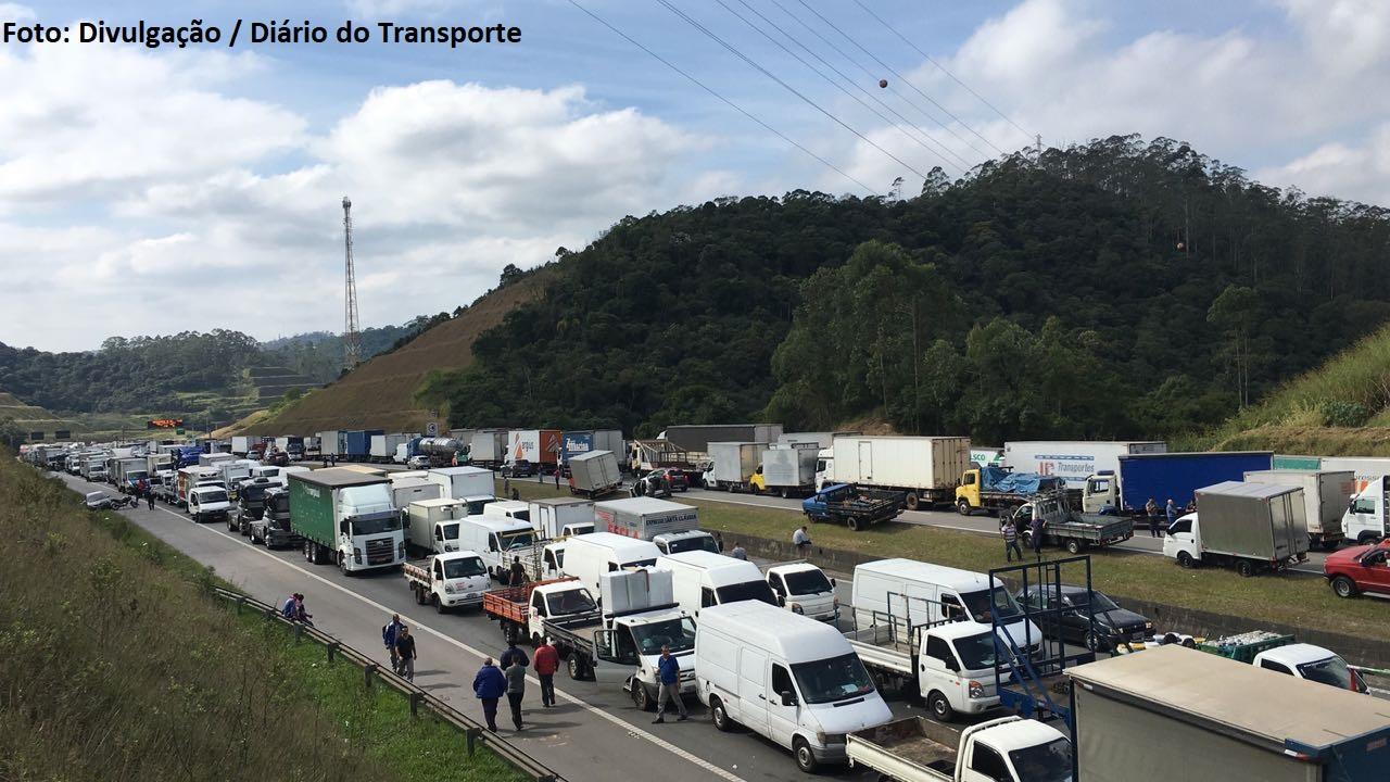 Protesto caminhões (1)