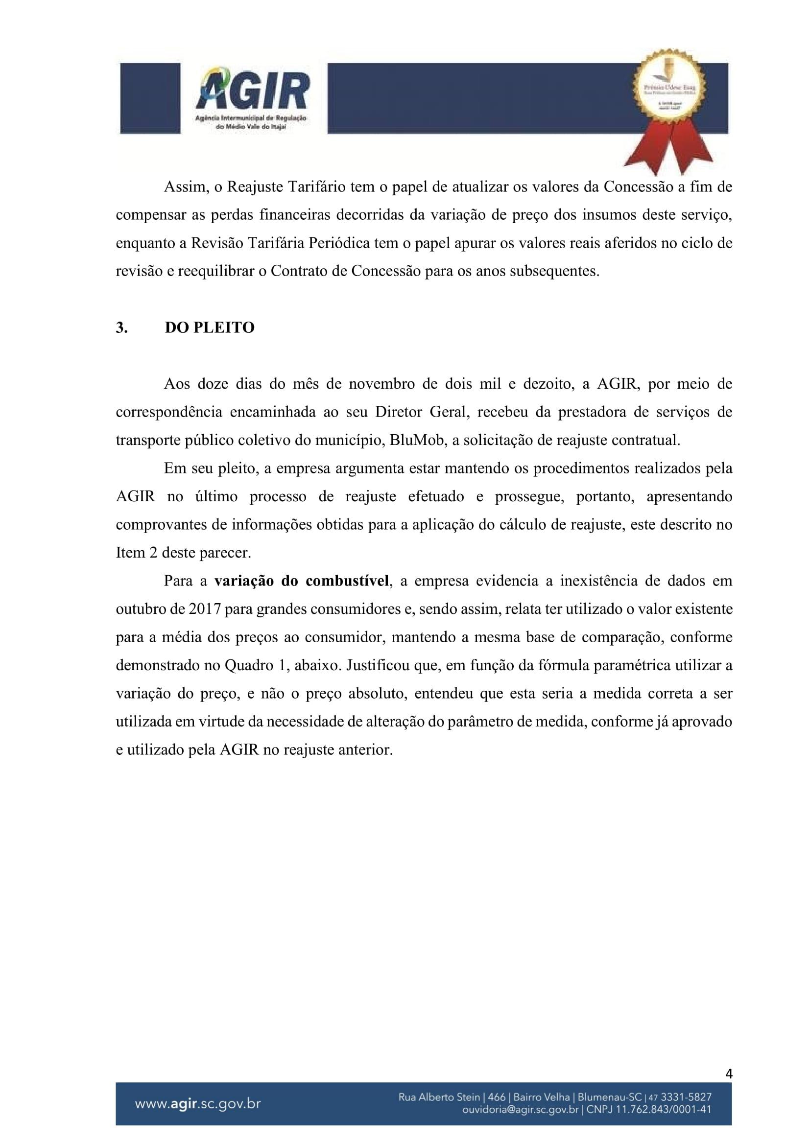 Parecer Administrativo nº 70-2018-04