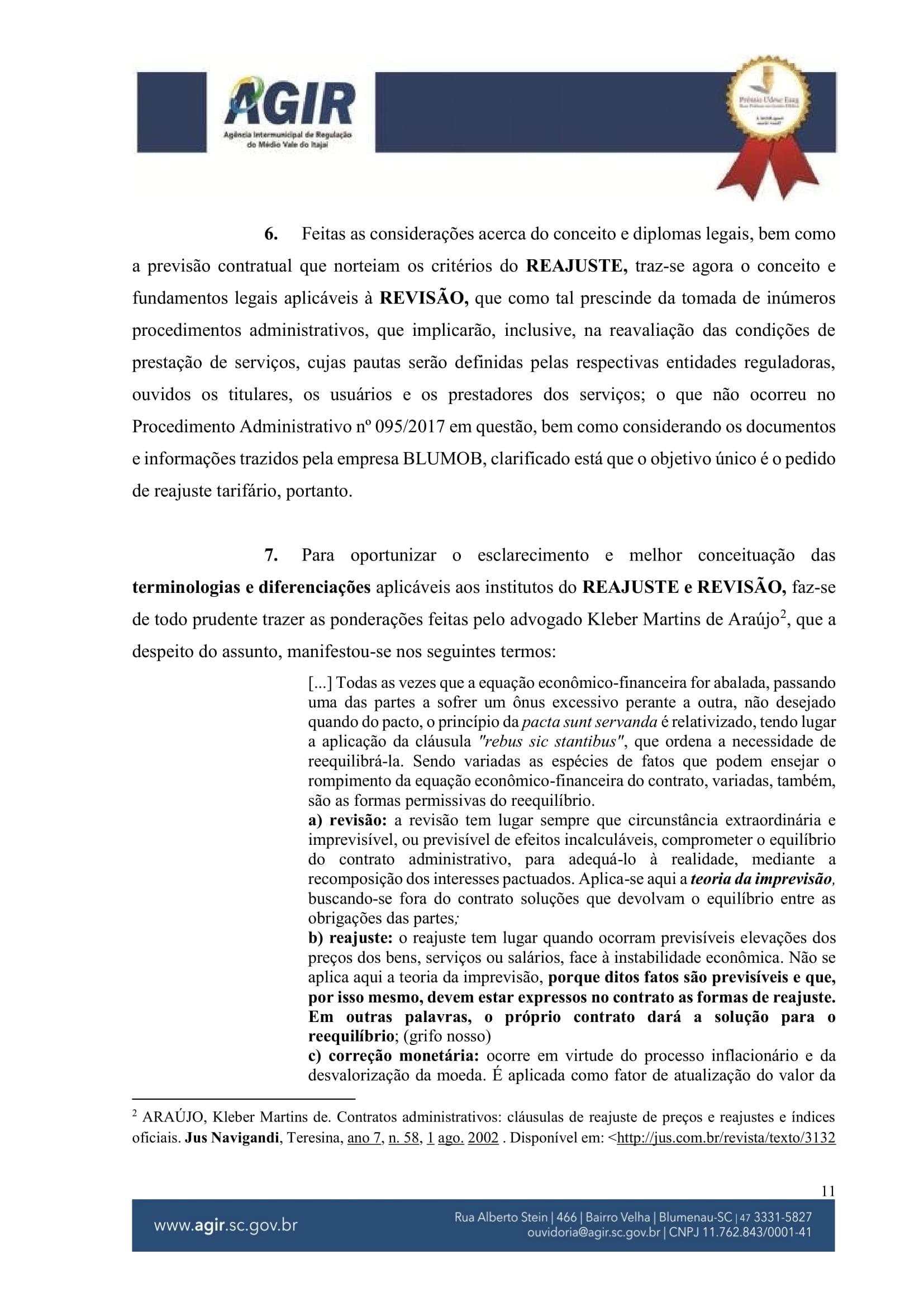 Parecer Juridico 131-2018_Reajuste Tarifário Blumob-11