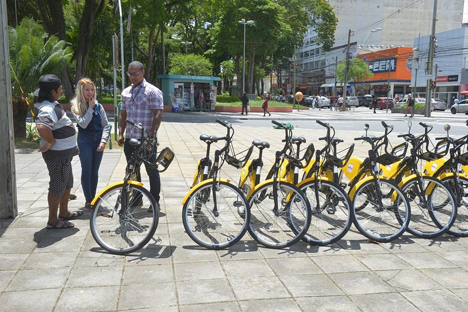 27a8bc140 São José dos Campos (SP) recebe segunda empresa de bicicletas  compartilhadas neste sábado