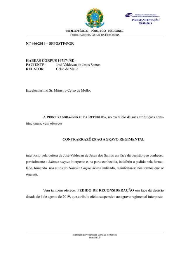 HC 167174_ContrarrazoesAgravo_Jose Valdevan de Jesus Santos-01