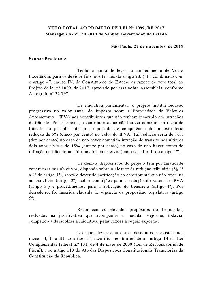 veto PL 1099_01