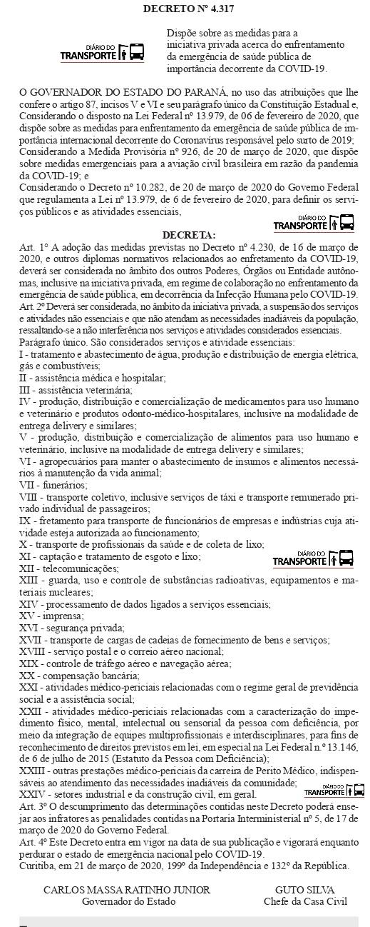 DECRETO PARANA_0