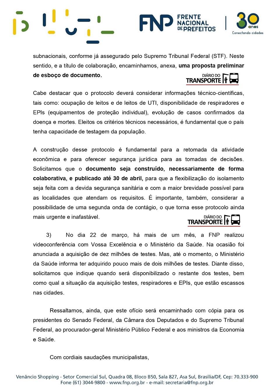 Ofício FNP272 2020- Pres. Jair Bolsonaro 02