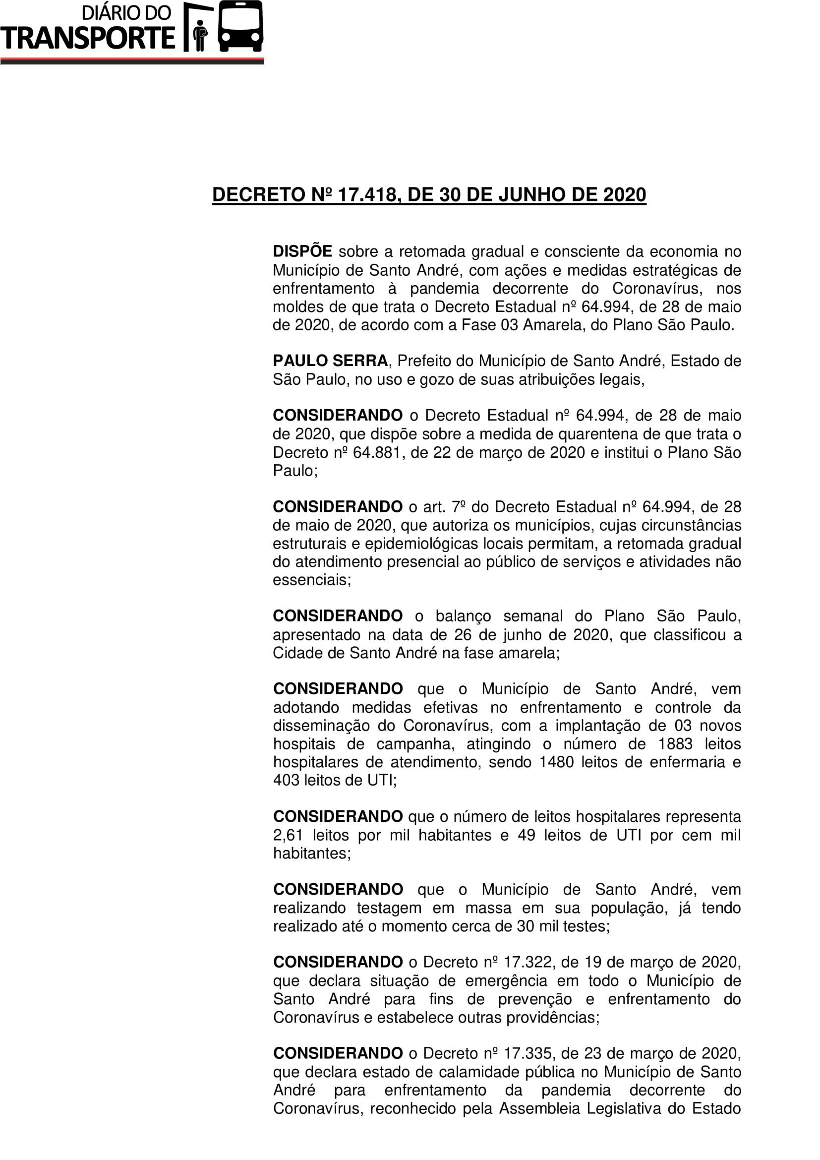 Decreto nº 17.418 (Retomada gradual e consciente da economia - fase amarela)-1