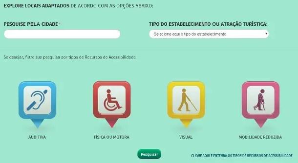 Novo aplicativo avalia acessibilidade de atrações turísticas