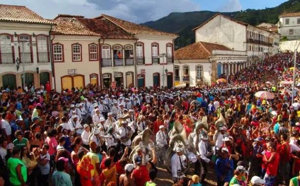 Carnaval em MG deve atrair cerca de 195 mil turistas