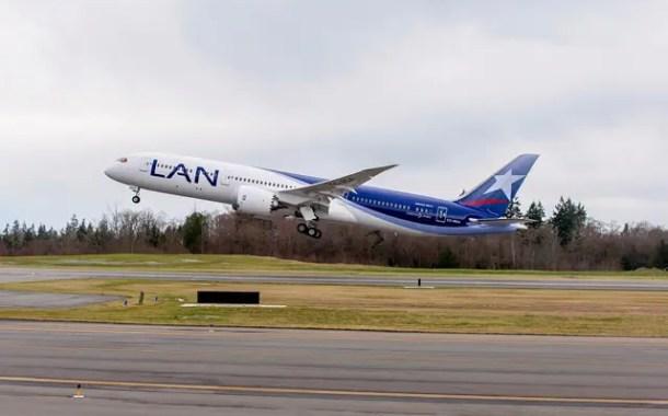 Boeing entrega primeiro 787-9 Dreamliner para LATAM Airlines